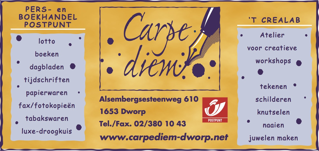 Carpe diem AM-formaat